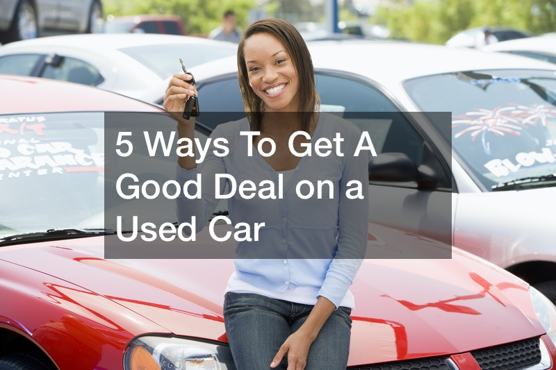 tips for getting the best deal on a used car